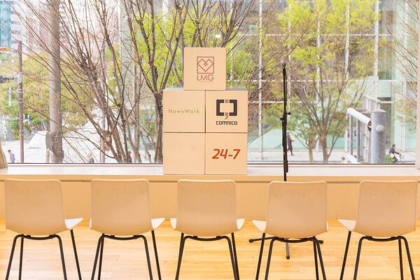 19新卒が入社式で座る椅子