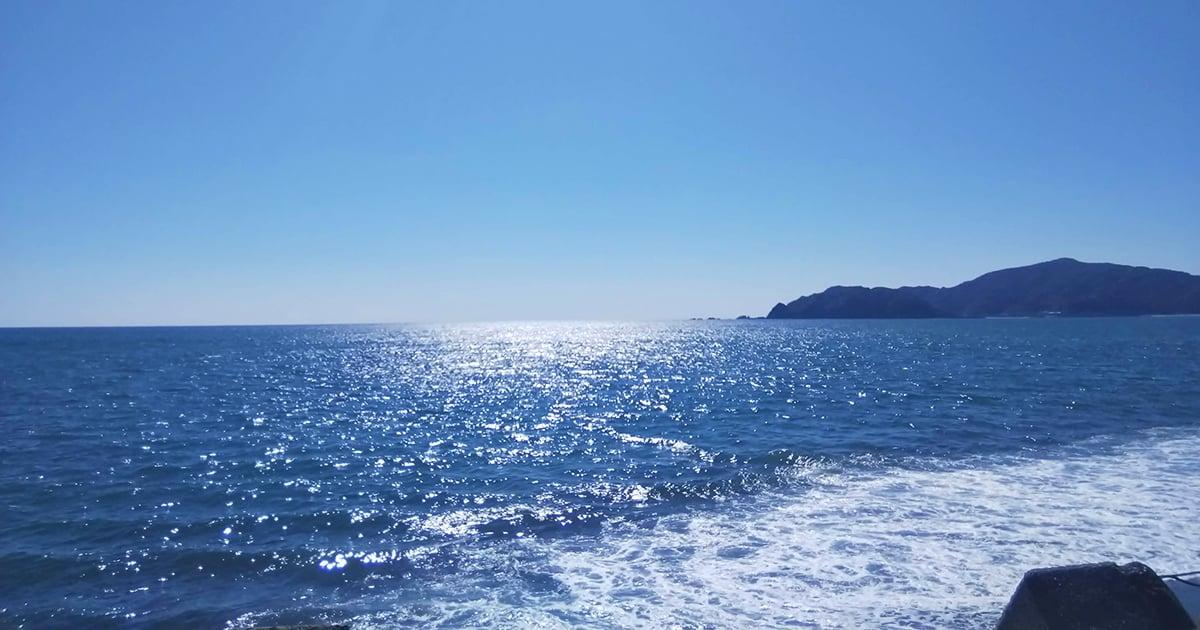 荒波の太平洋