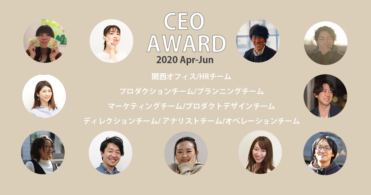 2020年1Q社長賞