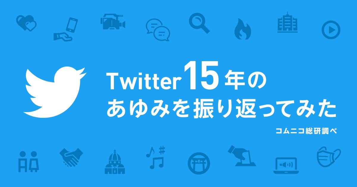 【Twitterの歴史】Twitter15年のあゆみを振り返ってみた