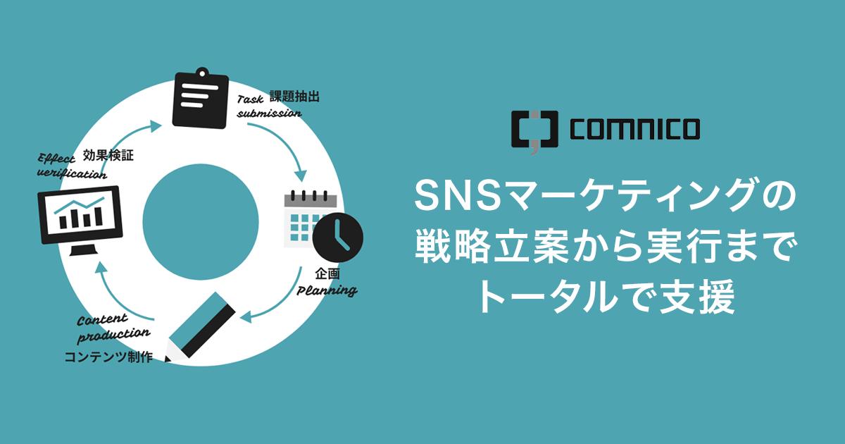 SNS運用代行・コンサルティング